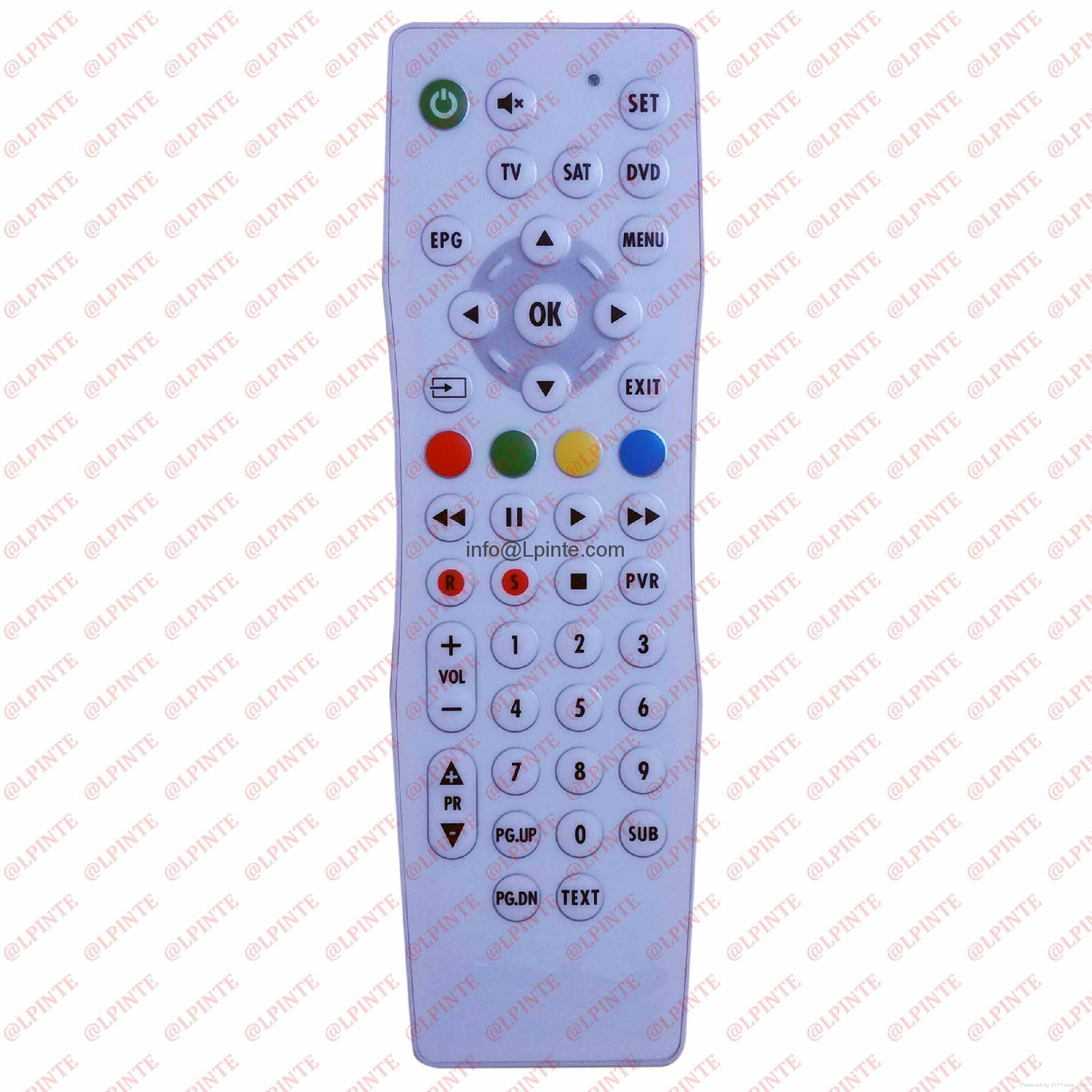 waterproof tv remote control clean washable outdoor tv one key learning 5