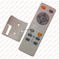 audio media tv remote control 7 keys rubber botton with holder LPI-R07B