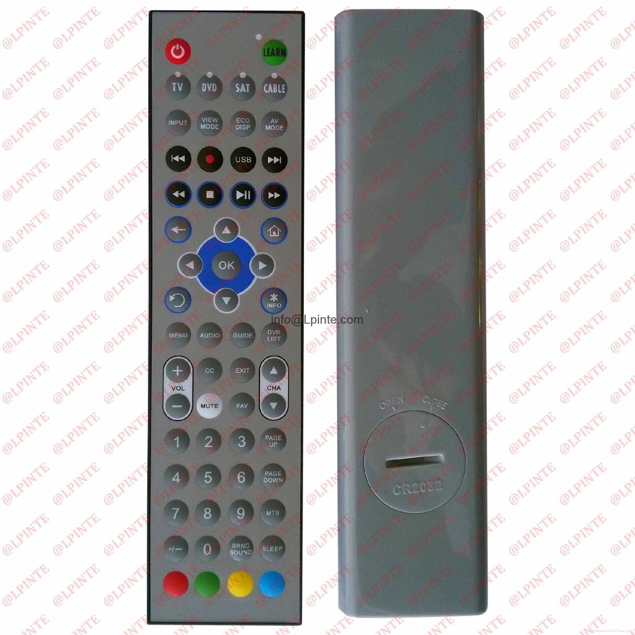 waterproof  remote control LPI-W061 bathroom tv outdoor tv  STB TV washable 1