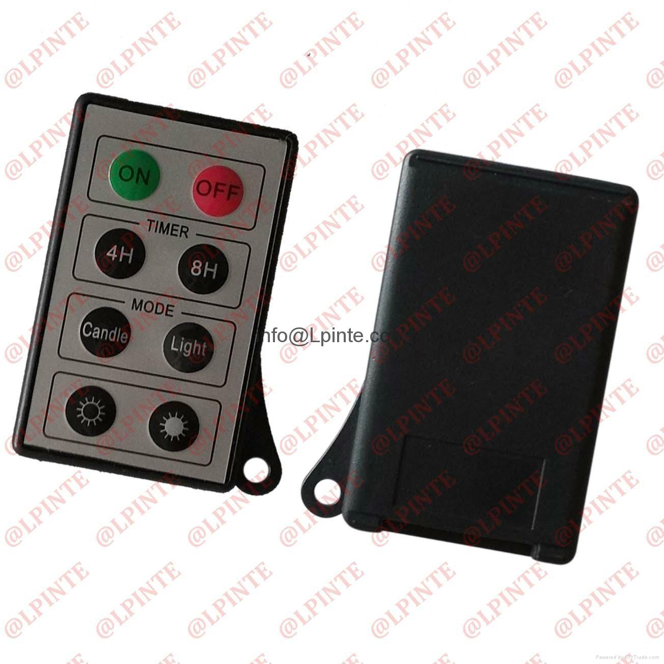 media music radio  light small remote control with hole uk LPI-M08A 2