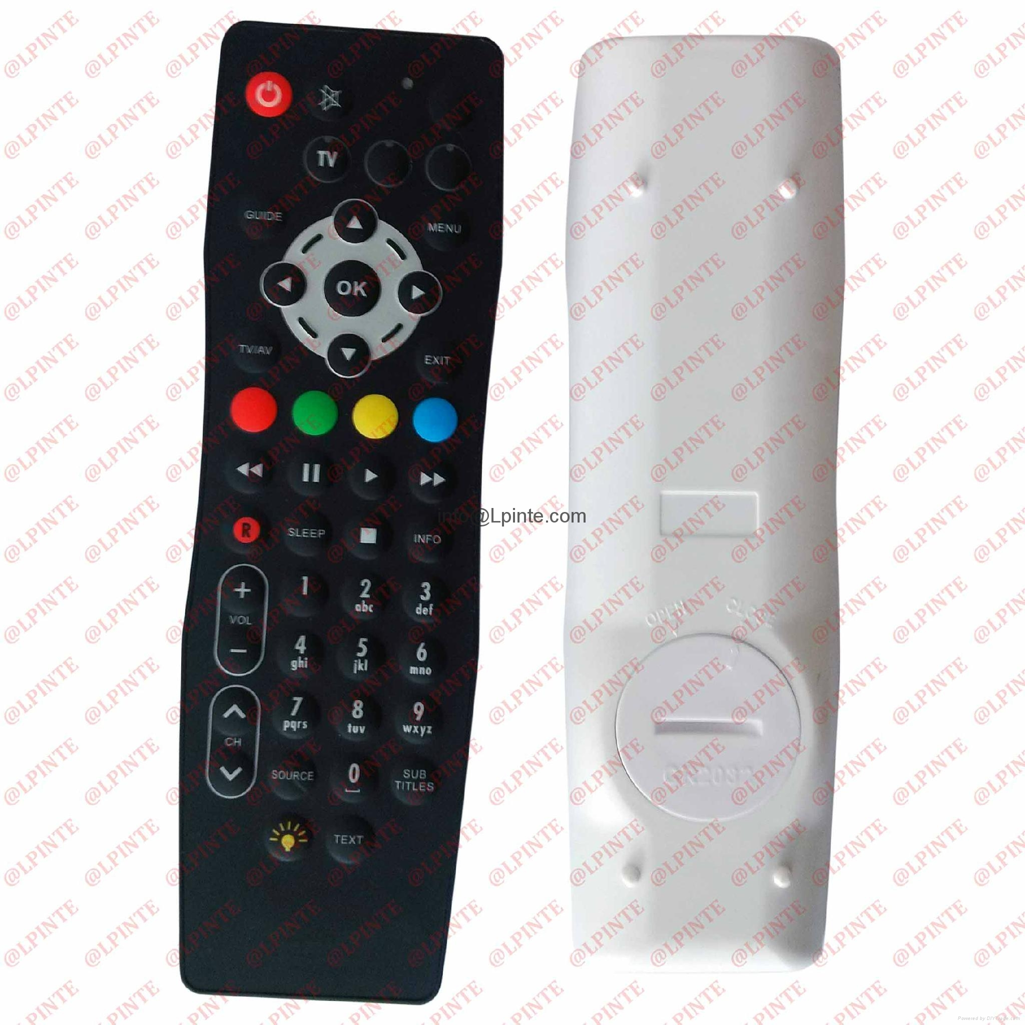 lcd tv remote control LPI-W053 IP67 remote auto parts STB TV BOX 1