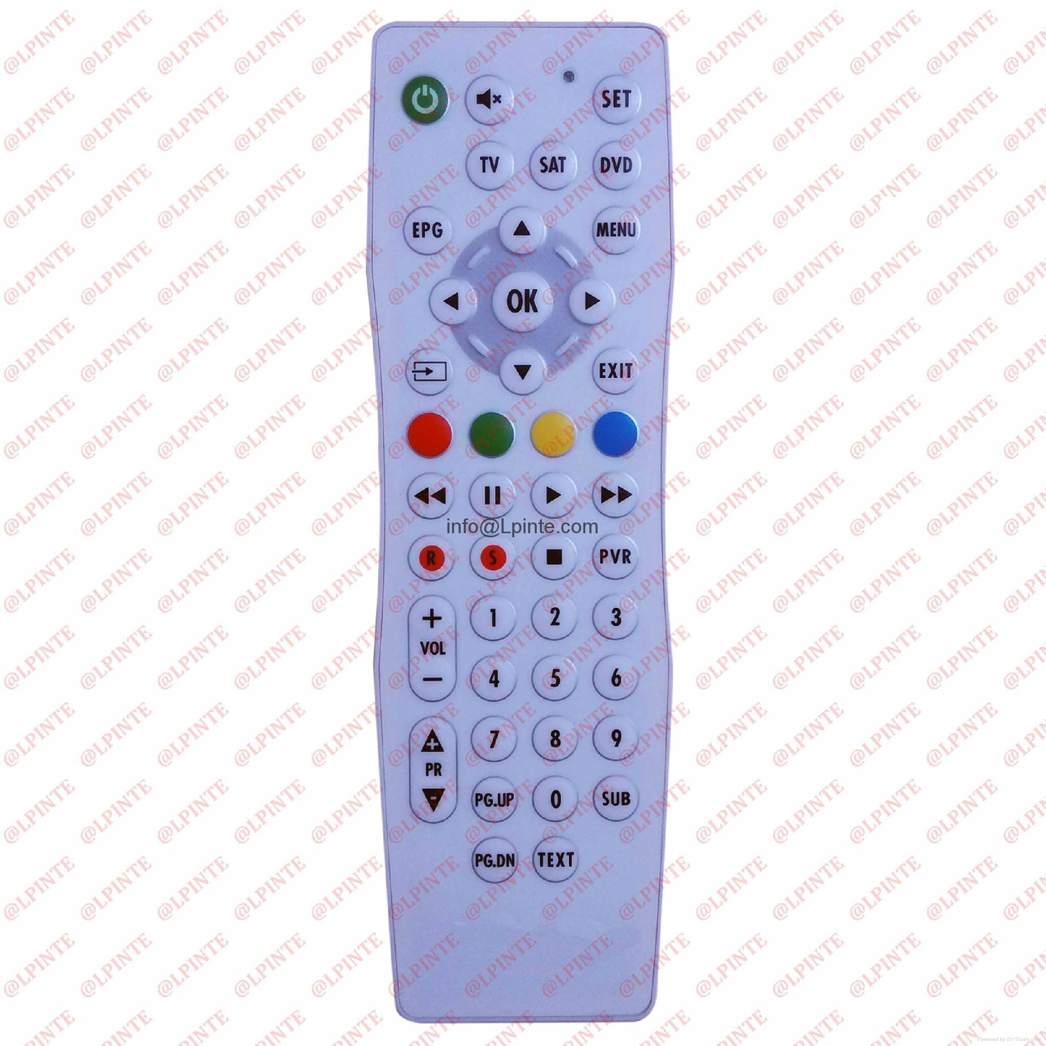 健康防水遥控器电视机顶盒 4