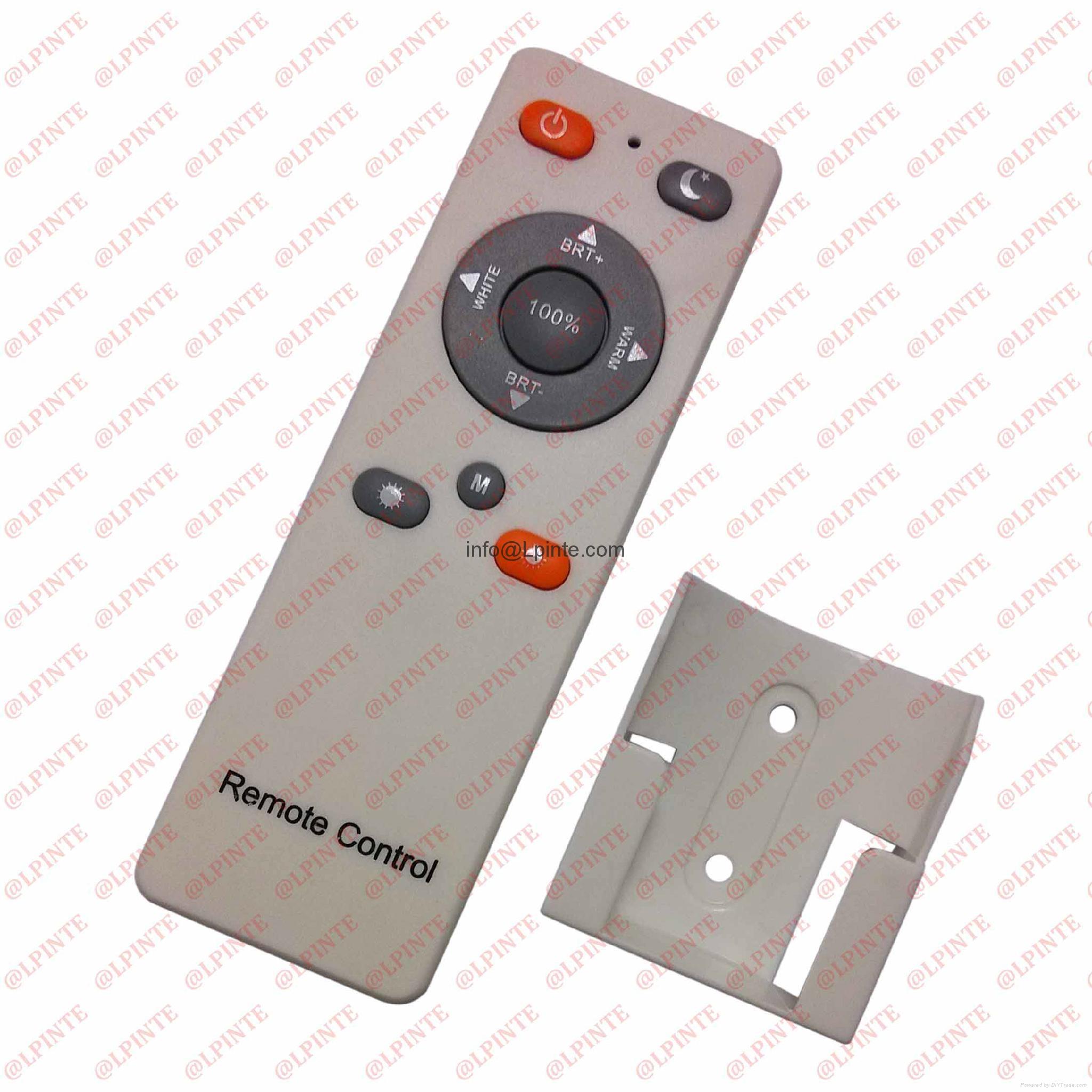audio media tv remote control 10 keys rubber botton with holder LPI-R10B