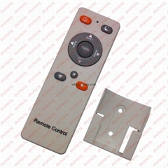 audio media tv remote control 10 keys rubber botton with holder LPI-R10B