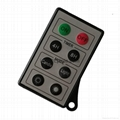 media music radio  light small remote control with hole uk LPI-M08A