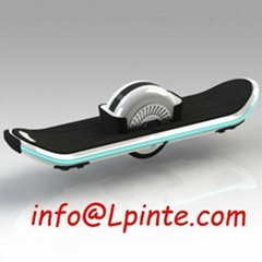 Electric one-wheel skateboard