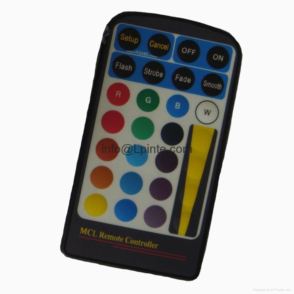 remote control for rgb led light dimmer 4