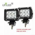 linear led work light for car road off