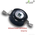 IR LED INFRARED POWER LED 0.5W 1W 3W 10W