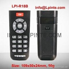 18 rubber keys remote control LPI-R18B RUSSIA USA UK