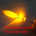 5mm led diode led candle light flame
