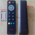 light remote,audio remote rubber button