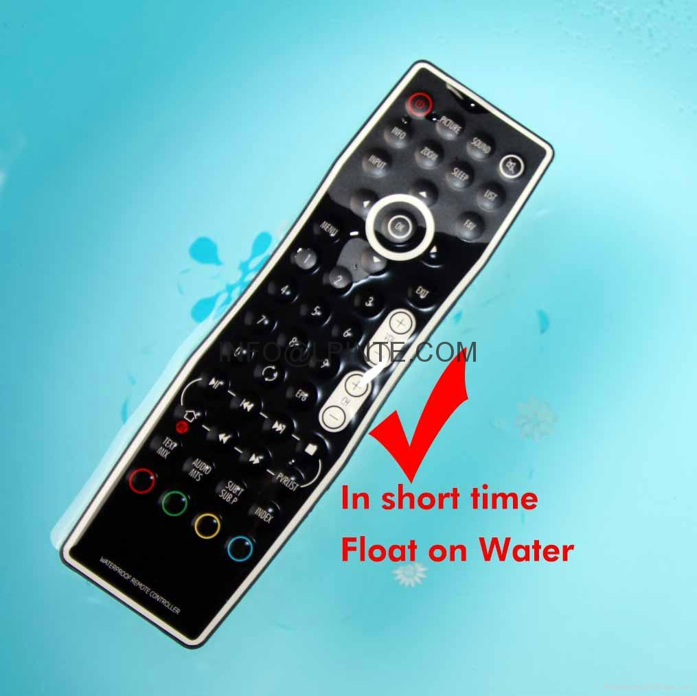 waterproof tv remote control clean washable outdoor tv amino stb hotel hospital 2