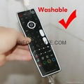 waterproof tv remote control for bathroom hospital hotel one key learning