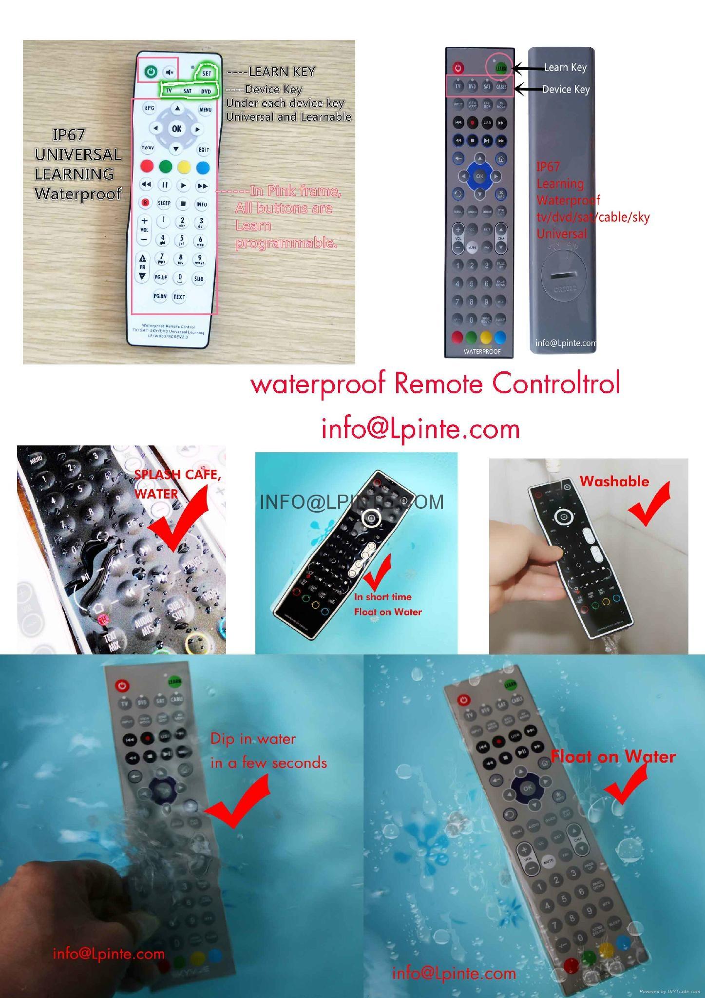 防水遙控器電視機 6