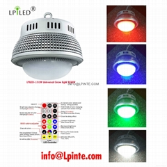 universal led grow light 150w rgb+white
