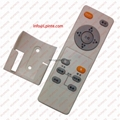 audio media tv remote control 13 keys rubber botton with holder LPI-R13B