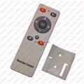 audio media tv remote control 13 keys rubber botton with holder LPI-R13B 3