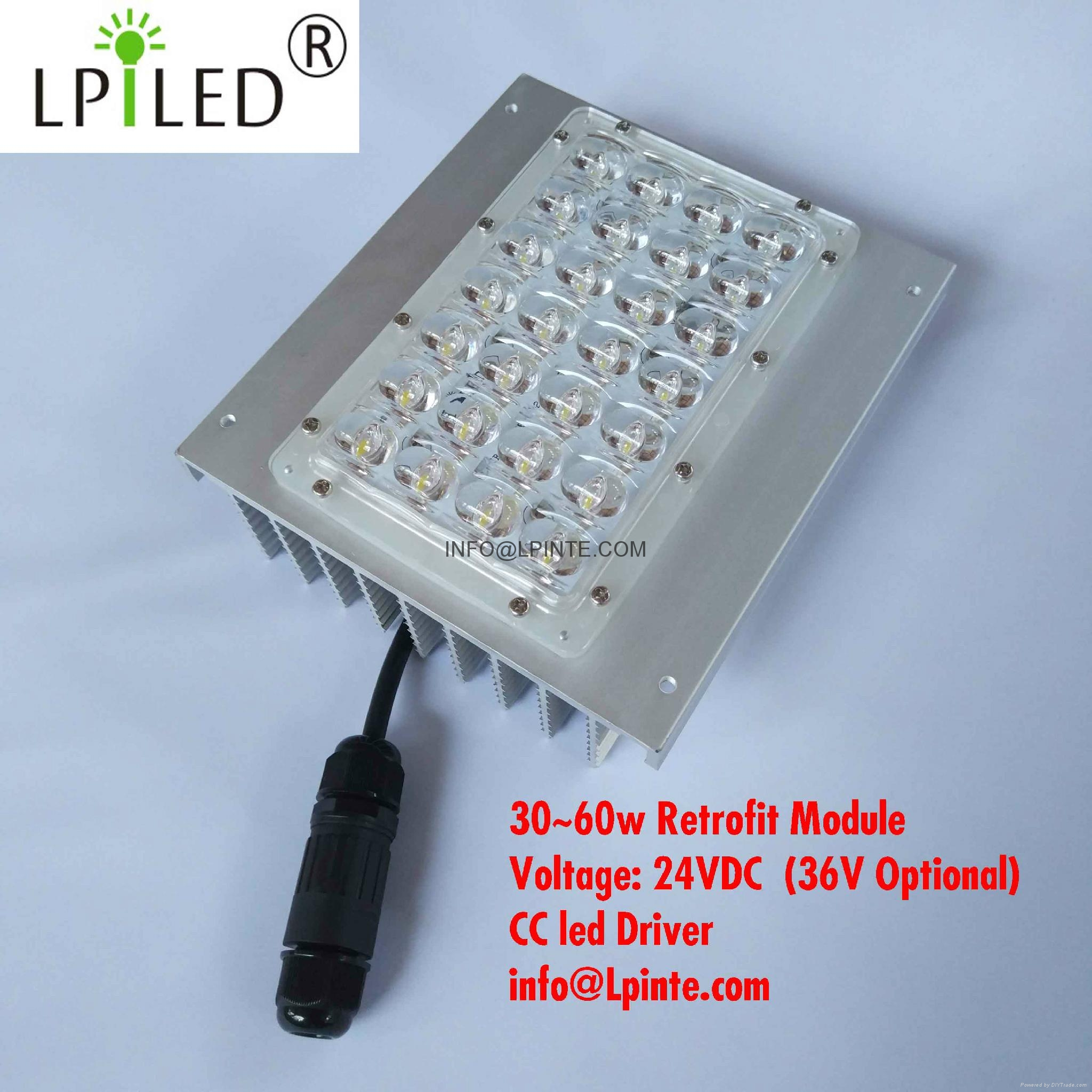 MCPCB led module LV2412 street light module 28w LV3519 colombia mexico led card 3