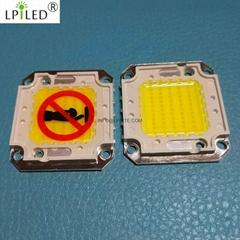 30w 50w 60w 80w 100w 120w high power CHIP LED module cob power led