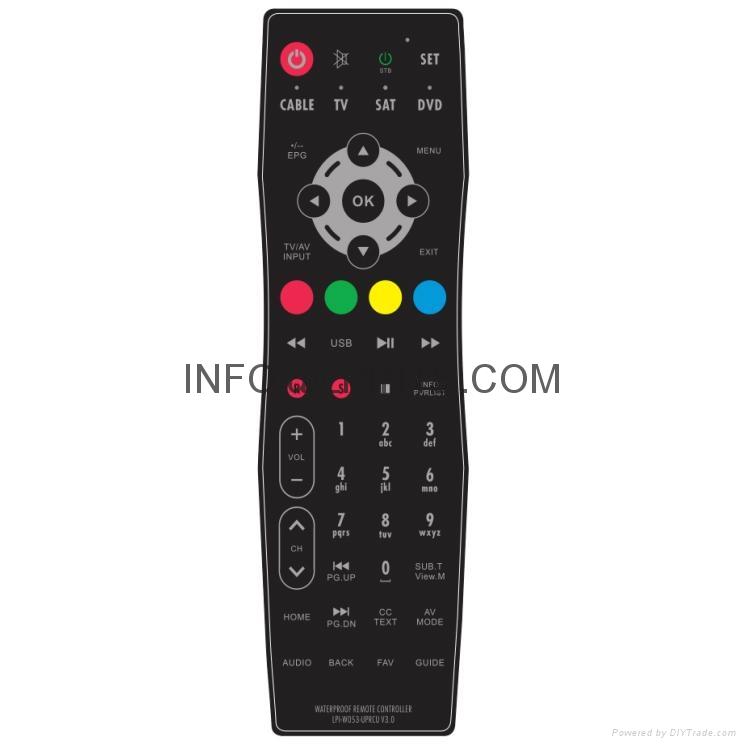 防水電視機遙控器鏡面電視 2