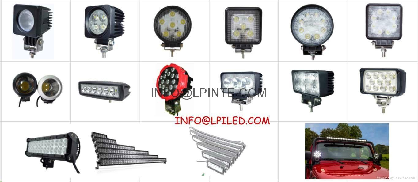 tube led work light 12-24vdc 5