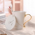 porcelain mug home person cafe tea hotel plate bone china