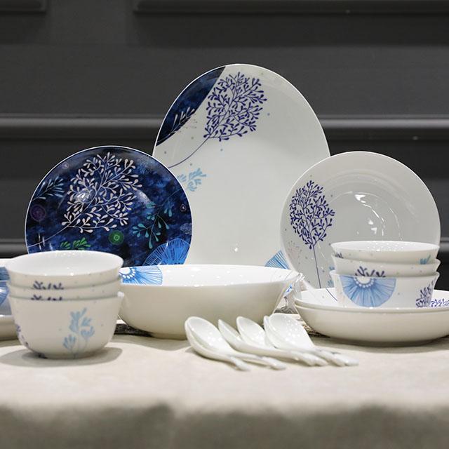 hotel plate porcelain plate bone china tableware