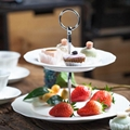 porcelain cafe set bone china plate piatto di porcellana