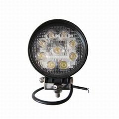 10-60VDC led work light 9x3w forklift light magnet base