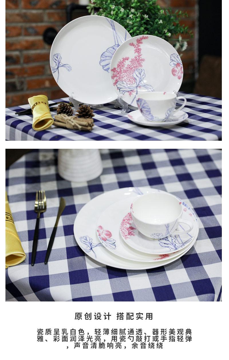 plato de porcelana 3