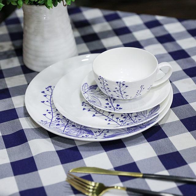 plato de porcelana 5