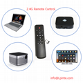 Android box remote control and tv 2.4G learning google tv box RF wireless amino 1
