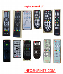 waterproof lcd tv remote control