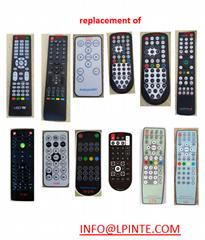 waterproof lcd tv remote control
