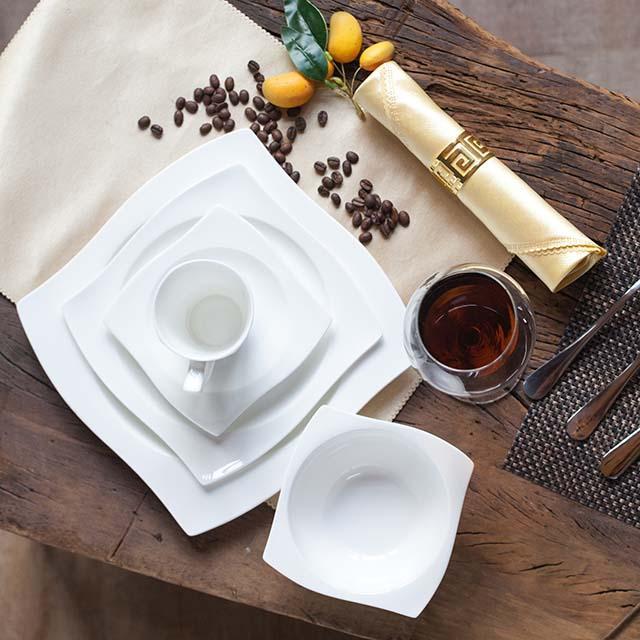 porcelain hotel plate bowl customized