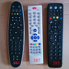 waterproof mirror tv remote control for amino stb iptv