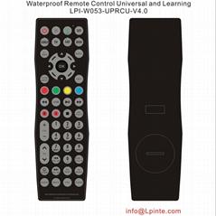 waterproof lcd tv 防水遥控器