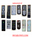 waterproof mirror tv remote control for hotel and resort universal and learning
