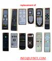 waterproof lcd tv 防水电视遥控器 4
