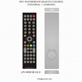 waterproof tv remote control for hotels