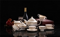 porcelain coffee set plate bowl cream pither 15pcs kit 1 2
