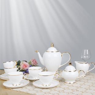 porcelain coffee set plate bowl cream pither 15pcs kit 1 3