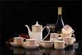 porcelain coffee set plate bowl cream pither 15pcs kit 1 4