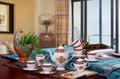 porcelain coffee set plate bowl cream pither 15pcs kit 1 5