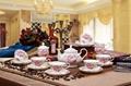 porcelain coffee set plate bowl cream pither 15pcs kit 1 10