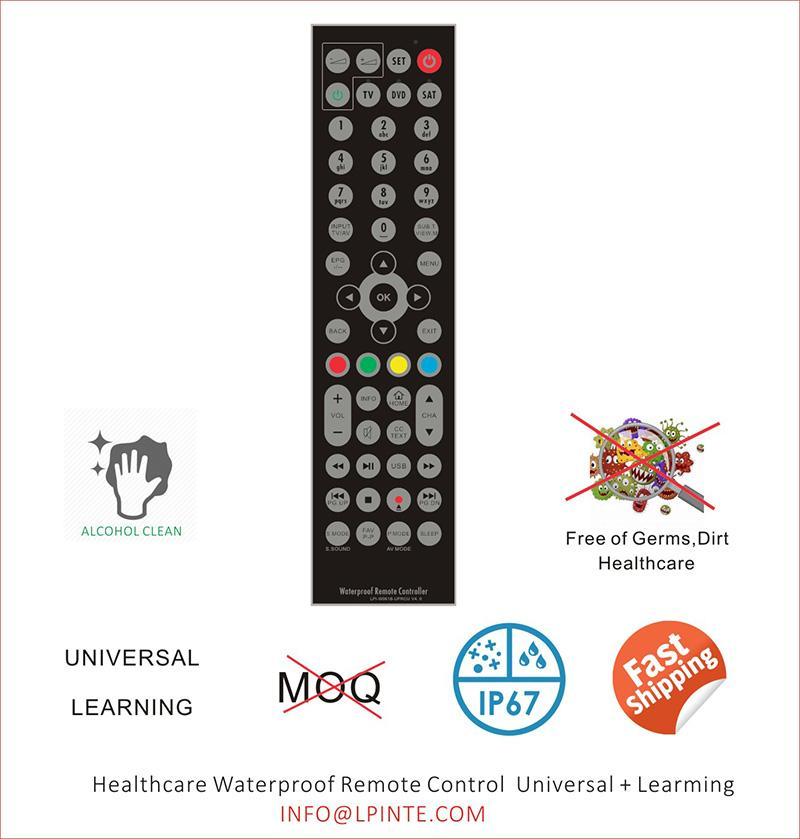 Hotel mirror tv remote control