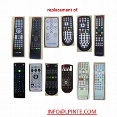 HOTEL LCD TV remote cont