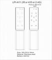 aluminum remote control 2.4G metal shell remote control