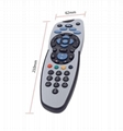 waterproof LCD tv remote control for amino IPTV replace samsung lg sharp